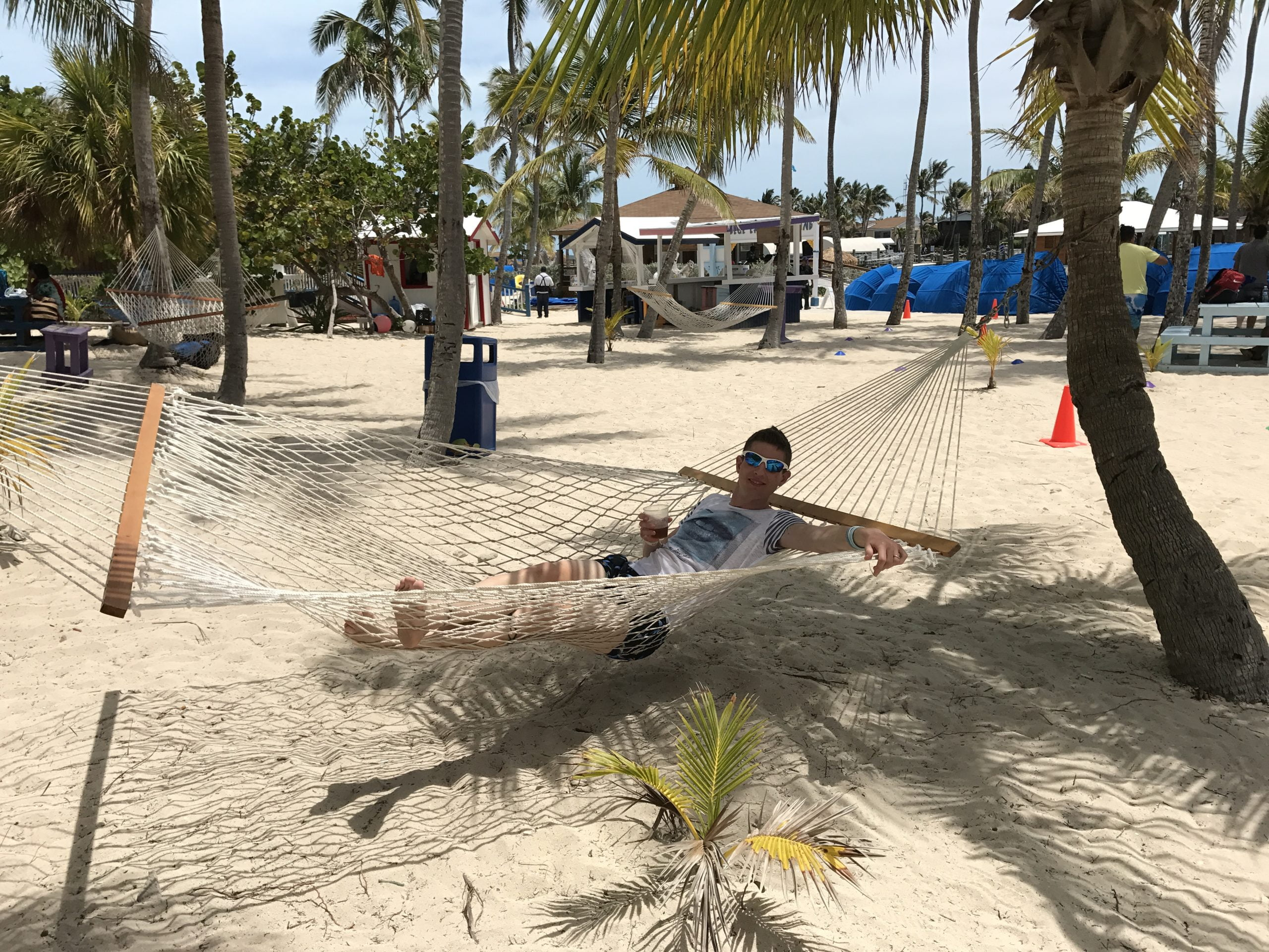 relax sull'amaca