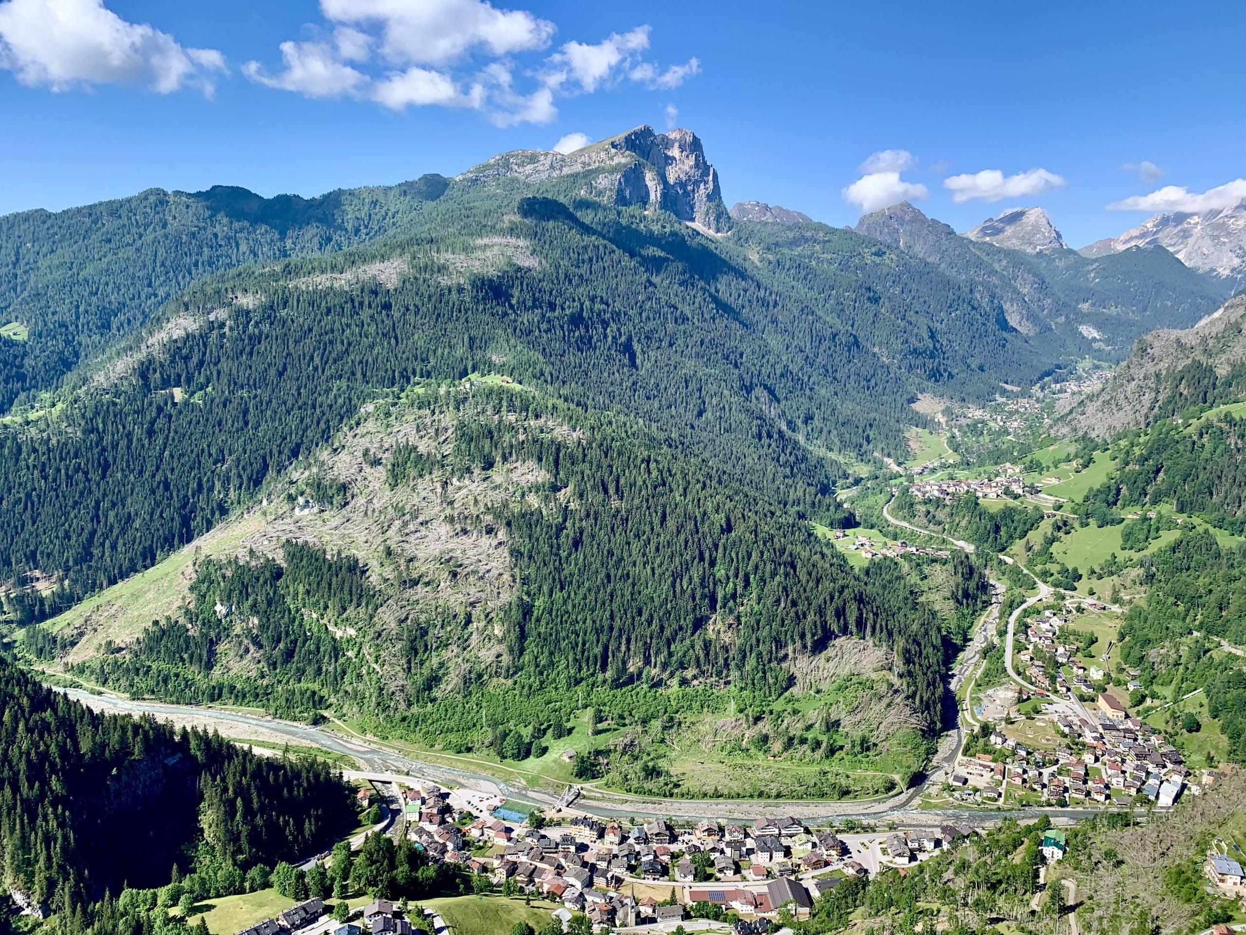 Belvedere Colle Santa Lucia