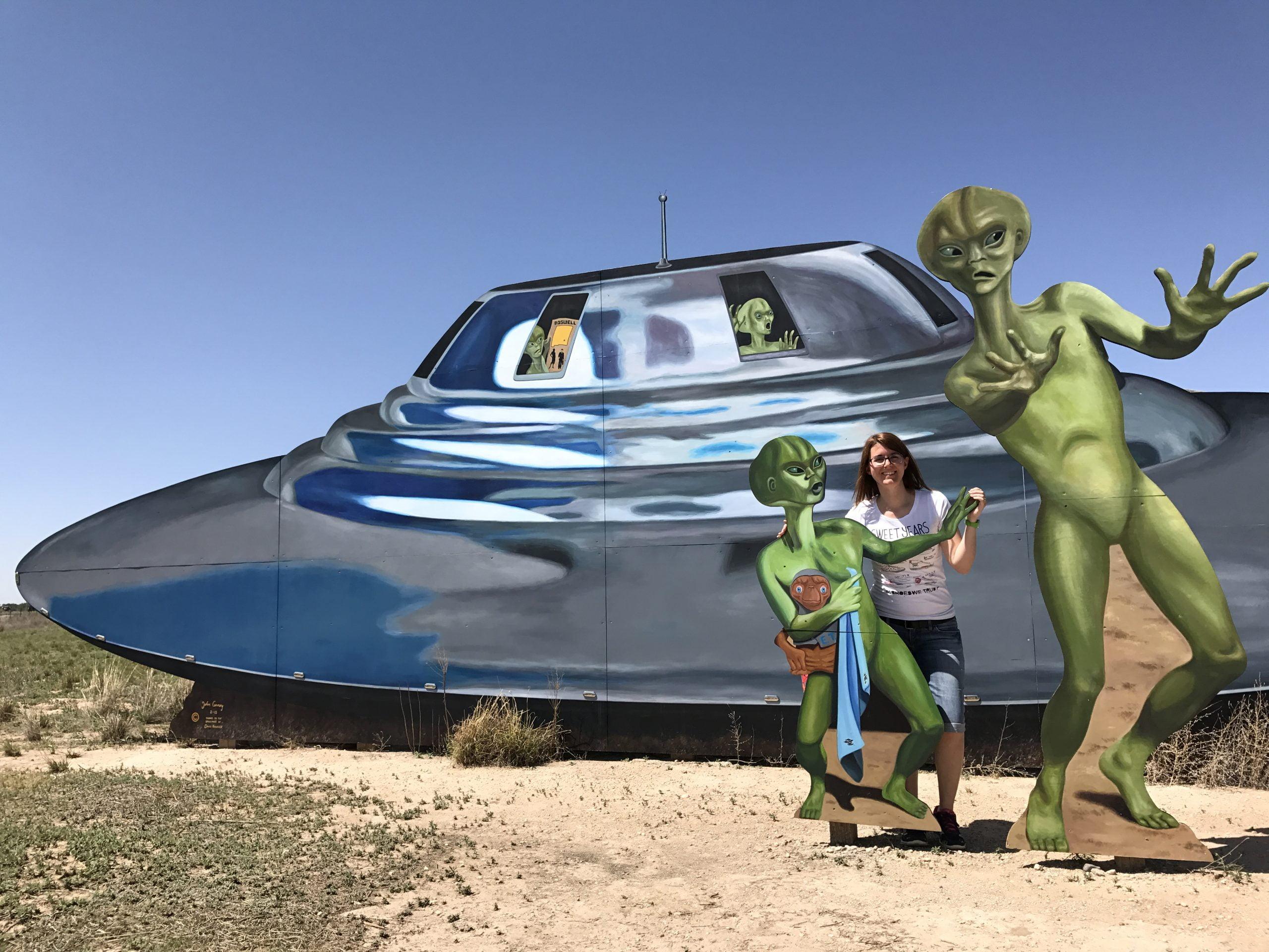 Alla ricerca di alieni a Roswell, New Mexico!!!