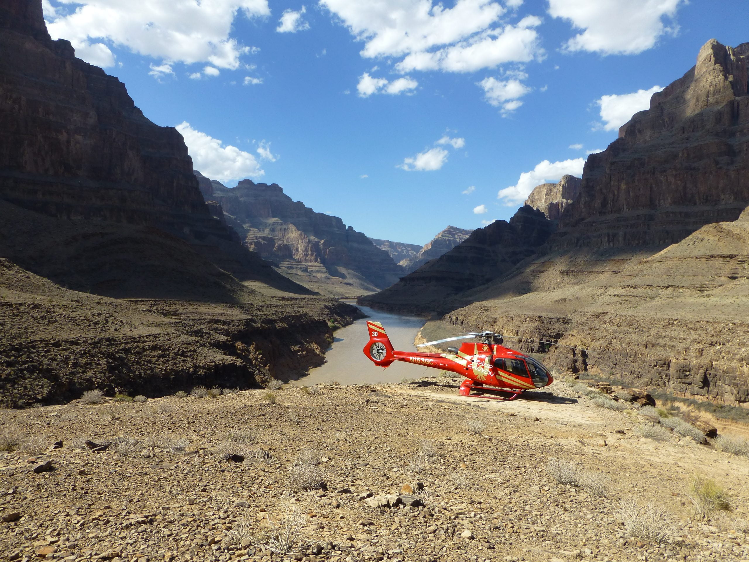 Tour del Grand Canyon in elicottero