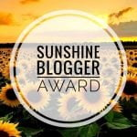 Sunshine Blogger Award 2020