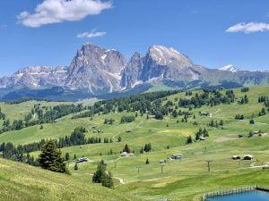 Alpe di Siusi - vista dell'altopiano