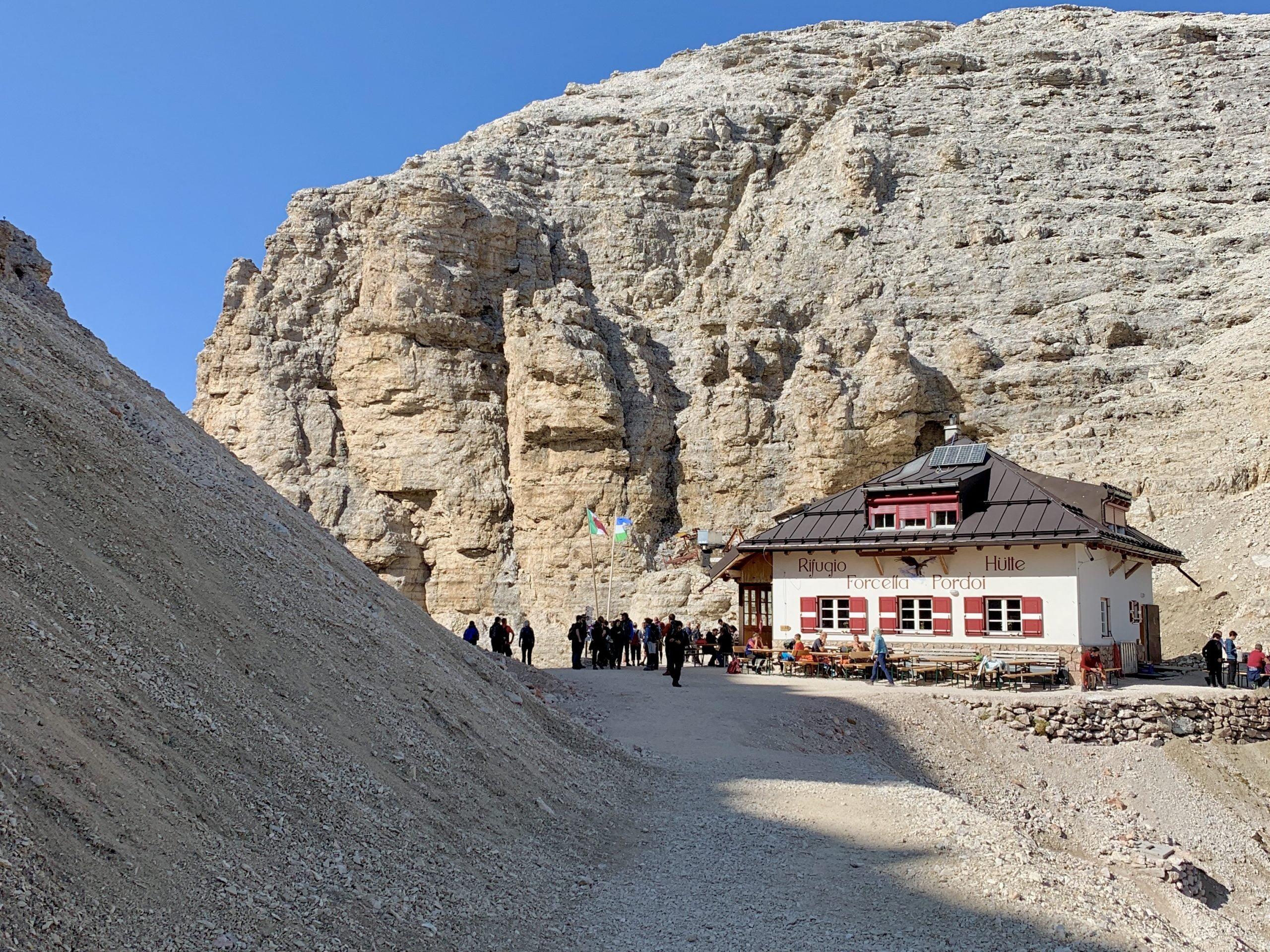 Rifugio Forcella Pordoi Terrazza delle Dolomiti