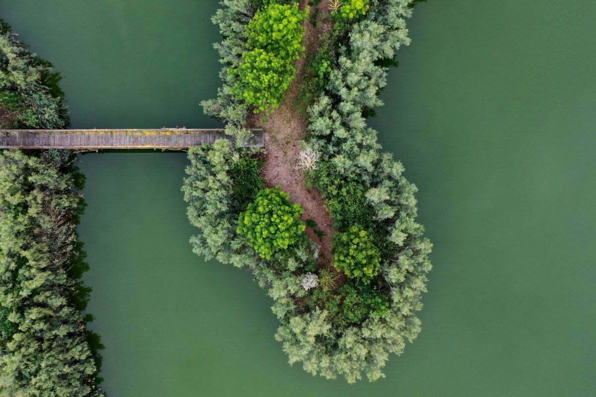 Vallevecchia vista drone