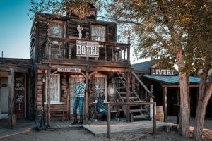Pioneertown: città fantasma nel Far West in California