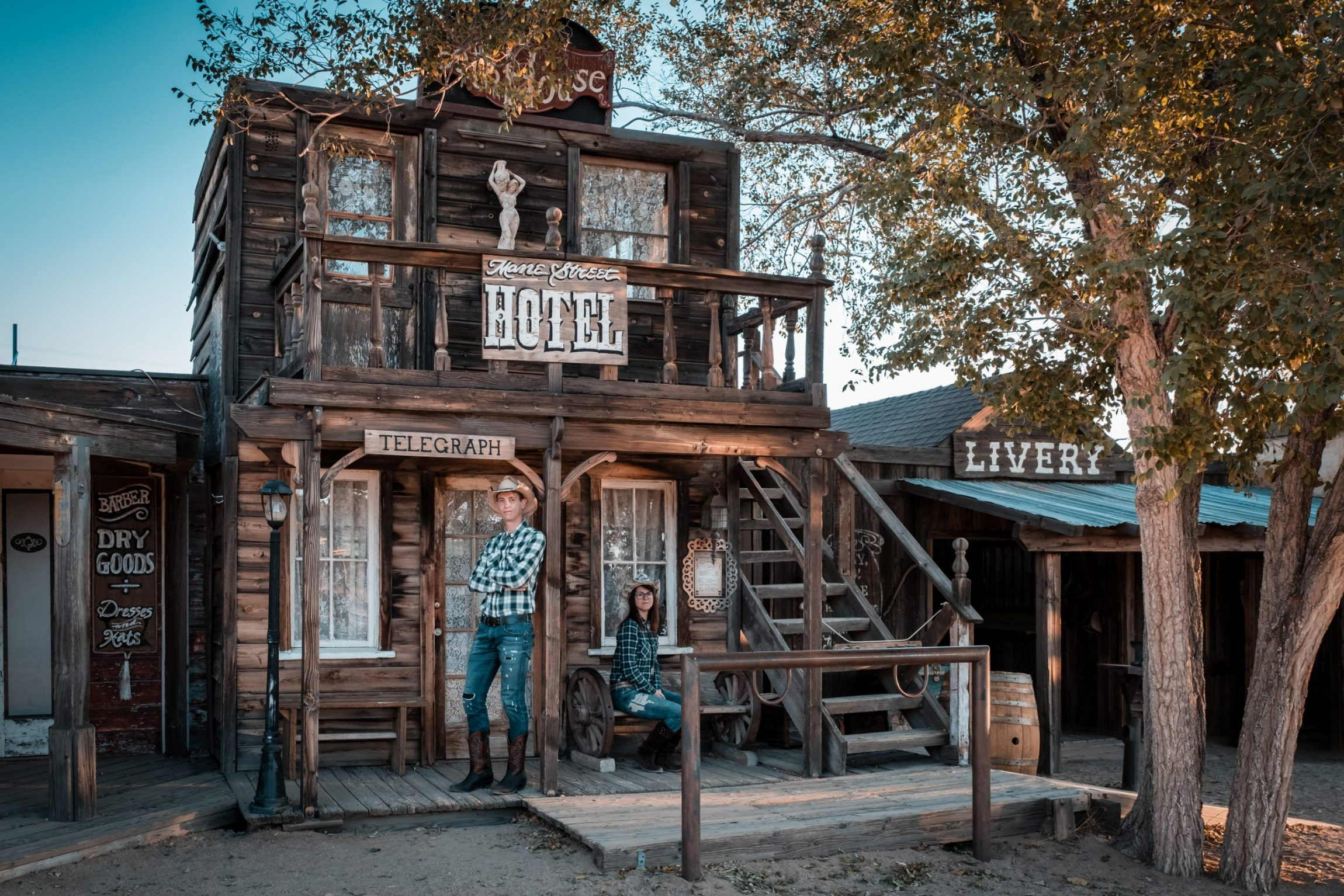 Pioneertown: città fantasma nel Far West in California