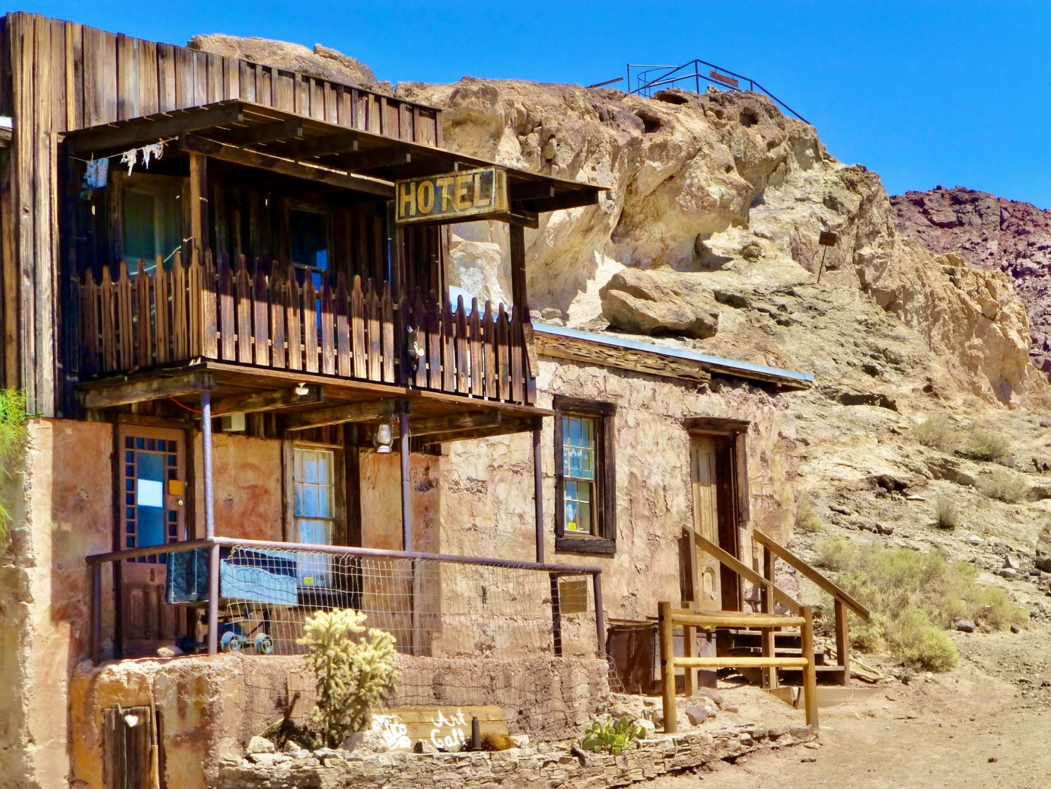 Il far west rivive a Calico, Ghost Town della California