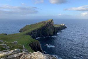 Faro di Niest Point Isola di Skye