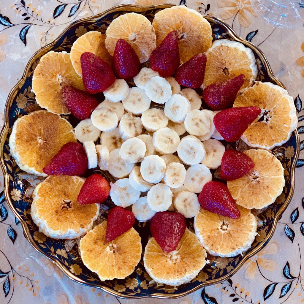 Tajine di frutta